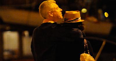 Adam Clayton y su novia en Dubrovnik 1