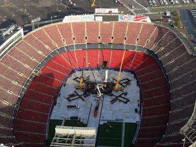 u2 360 Tour en el Giants Stadium de nueva York