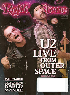 U2 Rolling Stone U2 live from outer space