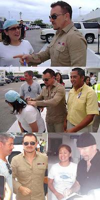 Bono Cancun Mexico, Octubre 2009