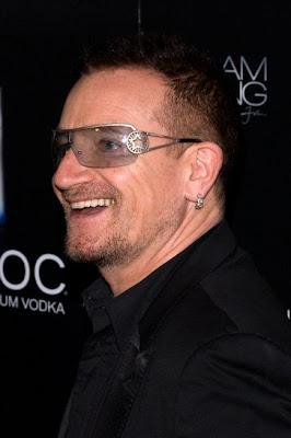 Bono en la celebración de cumpleaños de Sean Diddy Combs en Nueva York