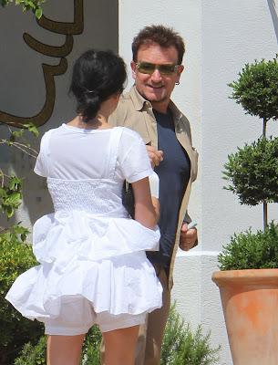 Bono en el Sur de Francia junio 2010 2