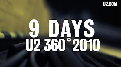 9 dias u2 360 tour turin