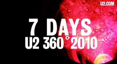 U2 360 Tour - Cuenta atrás Turín - 7 días
