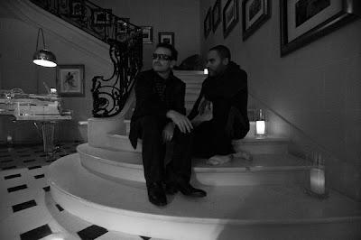 Bono y Lenny en Paris