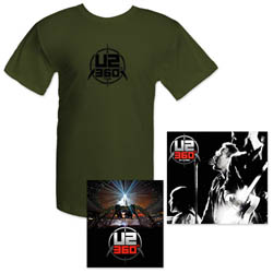 Merchandise pack U2 360 Tour Europa