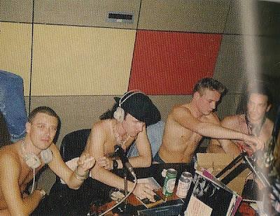 U2 desnudos con Dave Fanning en la radio