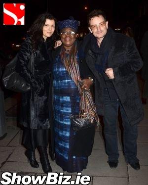 Ali Hewson, Ngozo Okonjo-Iweala, Bono