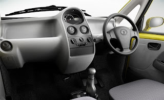 Dashboard Tata Nano