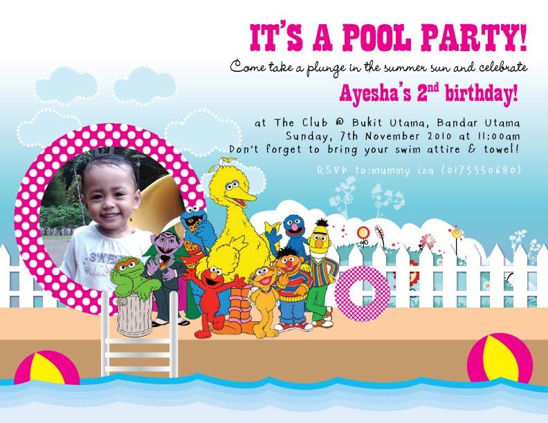 Ayeshas 2nd Sesame Street Birthday Party