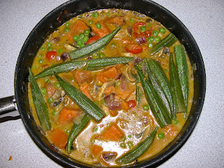 The Portobello Kitchen South Indian Okra And Sweet Potato Curry