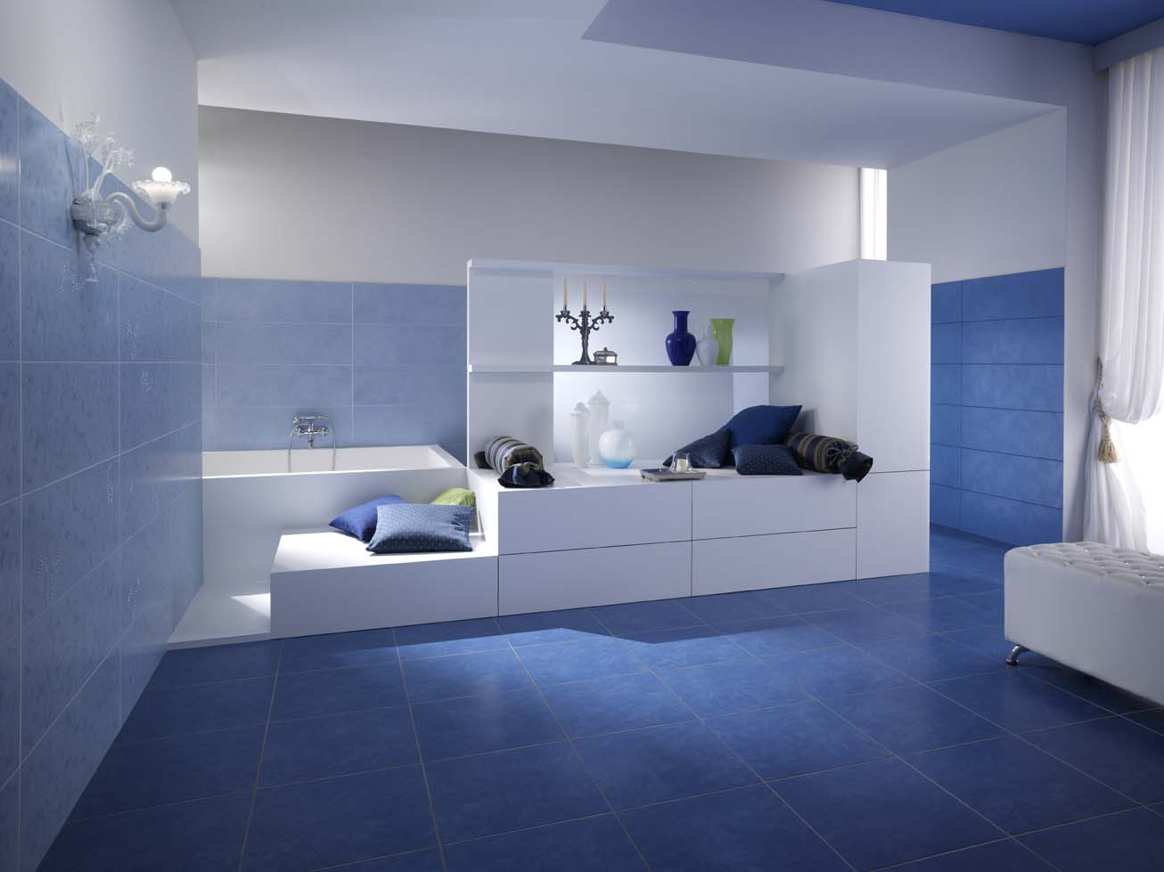 Arredo bagno piastrelle imola ceramica - Arredare il bagno moderno ...