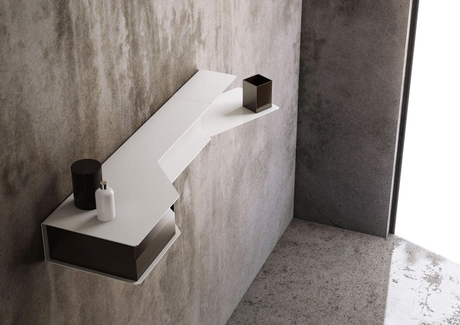 Arredo bagno design: OBLIQUE by Hangar Design Group per Valli ...