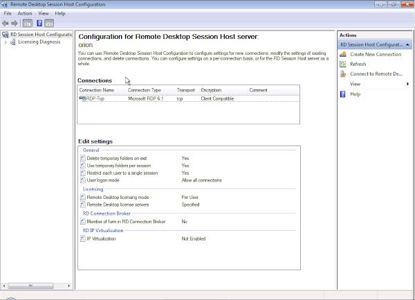 Blog of an IT Admin : Terminal Server - 2008 R2 - Force