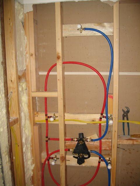 One Fourteen: Building a Tile shower surround