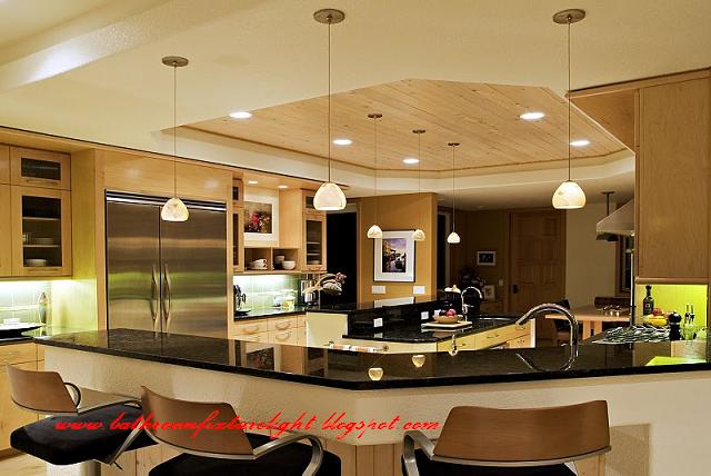 Kitchen Ceiling Lighting Design. Kitchen Overhead Lighting Ideas