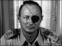 Resultado de imagen de Ben Gurion –luego primer ministro– y entre sus dirigentes figuraban Moshe Dayan, hasta hace poco ministro de Defensa, y el actual primer ministro Itshak Rabin.