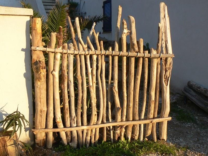 doudoustyle cr ations palissade en bois flott s. Black Bedroom Furniture Sets. Home Design Ideas