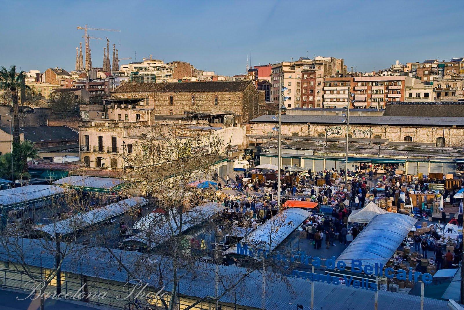 Barcelona photo fira bellcaire encants vells flea market - Encantes barcelona ...