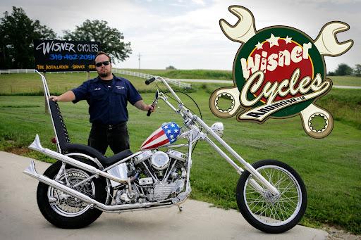 WISNER CYCLES, Anamosa Iowa: XS650 Yamaha hardtail