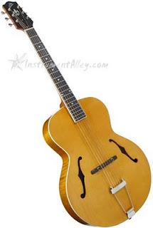 InstrumentAlley com News: The Loar LH-600 Acoustic Jazz Guitar