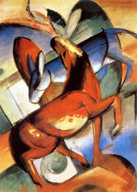 Franz Marc Horse Paintings