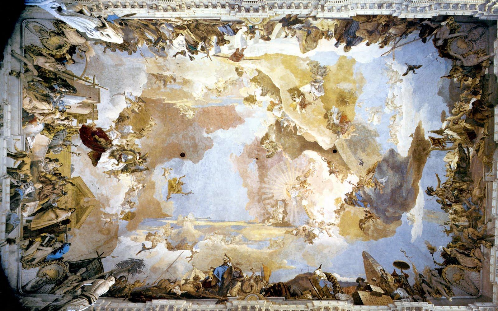 cityzenart: Tiepolo ceiling paintings
