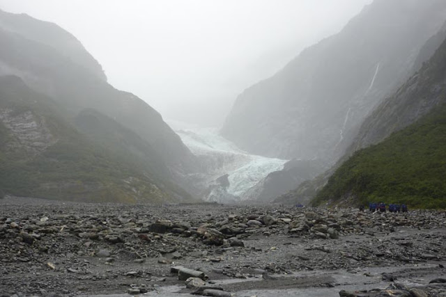 En la West Coast de la isla Sur de Nueva Zelanda suele acompañar el mal tiempo