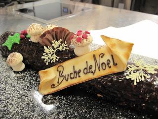 Decoration Biscuit Noel.A Covert Le Cordon Bleu Escapade Glaçage Au Chocolat Bûche