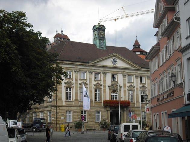 Wege In Der Region Stuttgart Aussicht Vom Seilergang Der Esslinger Burg
