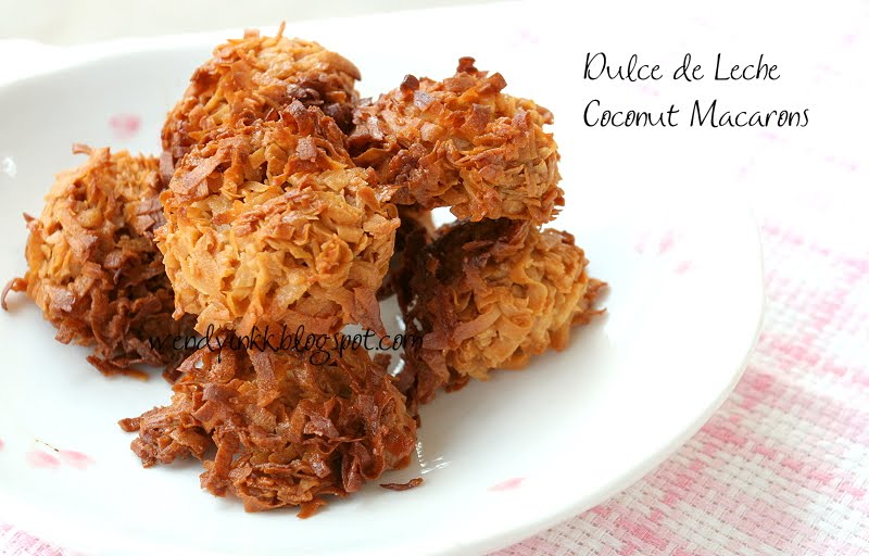 Table for 2.... or more: Dulce De Leche Coconut Macaroons