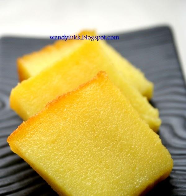 Bingka Ubi (Baked Cassava Cake) 木薯糕