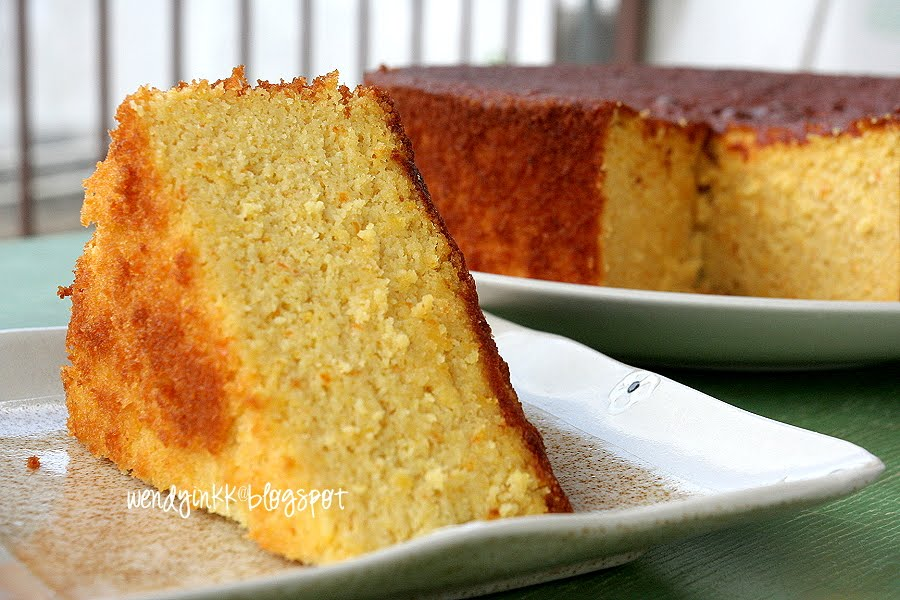 Table for 2.... or more: Orange Almond Cake