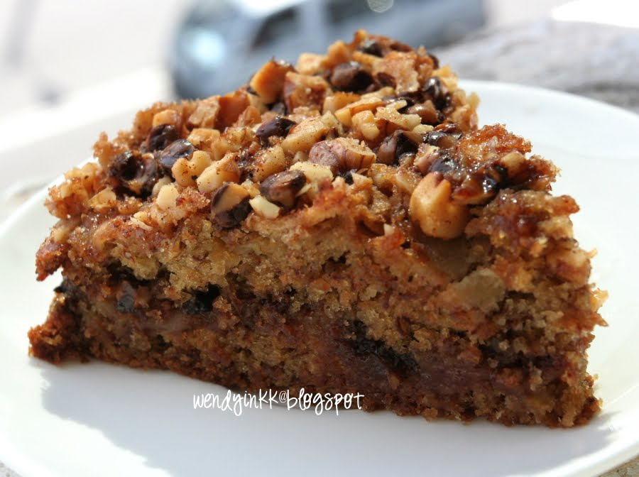 Chocolate Banana Coffee Cake