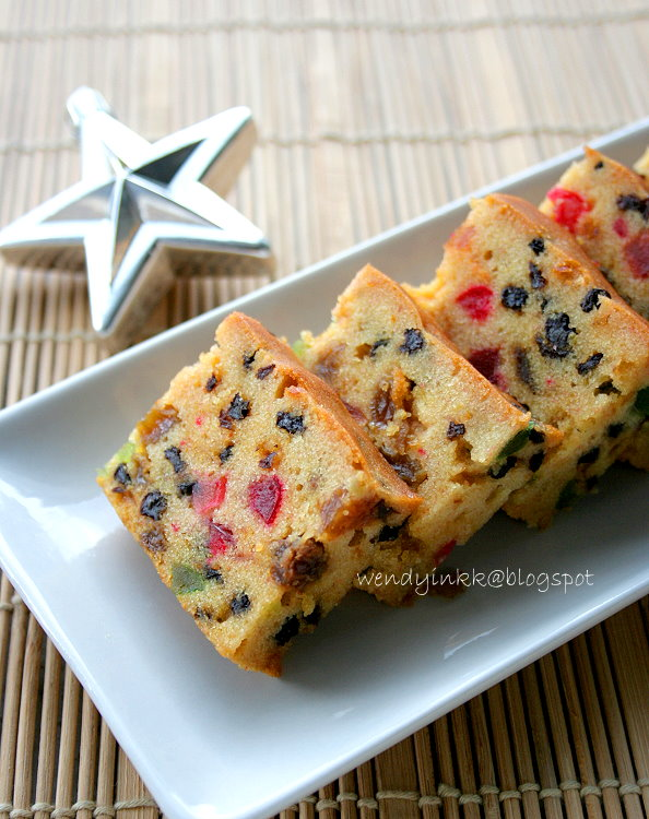 Christmas Cakes Fruit And Nuts Homemade