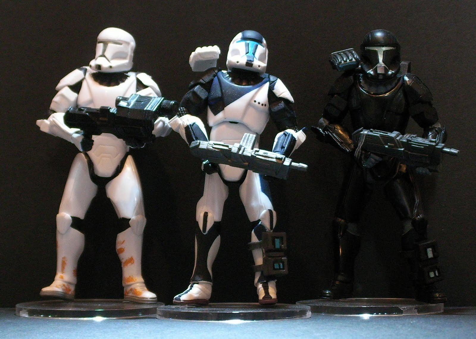 Clone Commando Toys 100