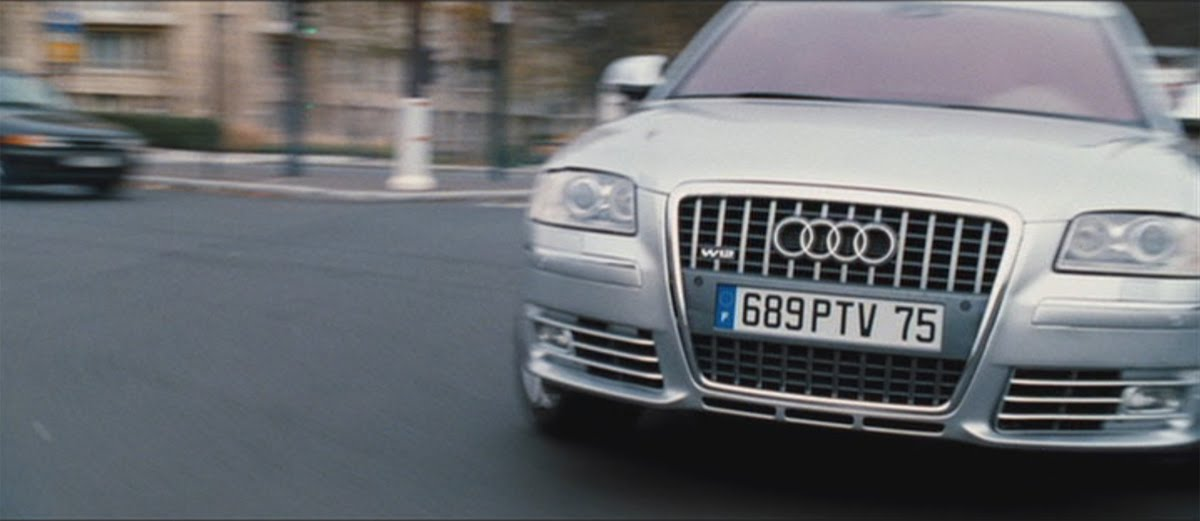 video audi a8 w12 car chase in from paris with love. Black Bedroom Furniture Sets. Home Design Ideas