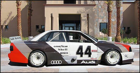 Hurley Haywood S Audi 200 Quattro Trans Am Winning Race