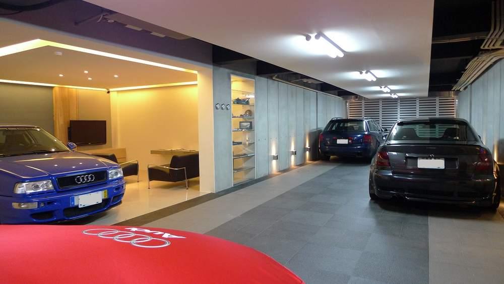 The coolest Audi garage weve ever seen  quattroholiccom