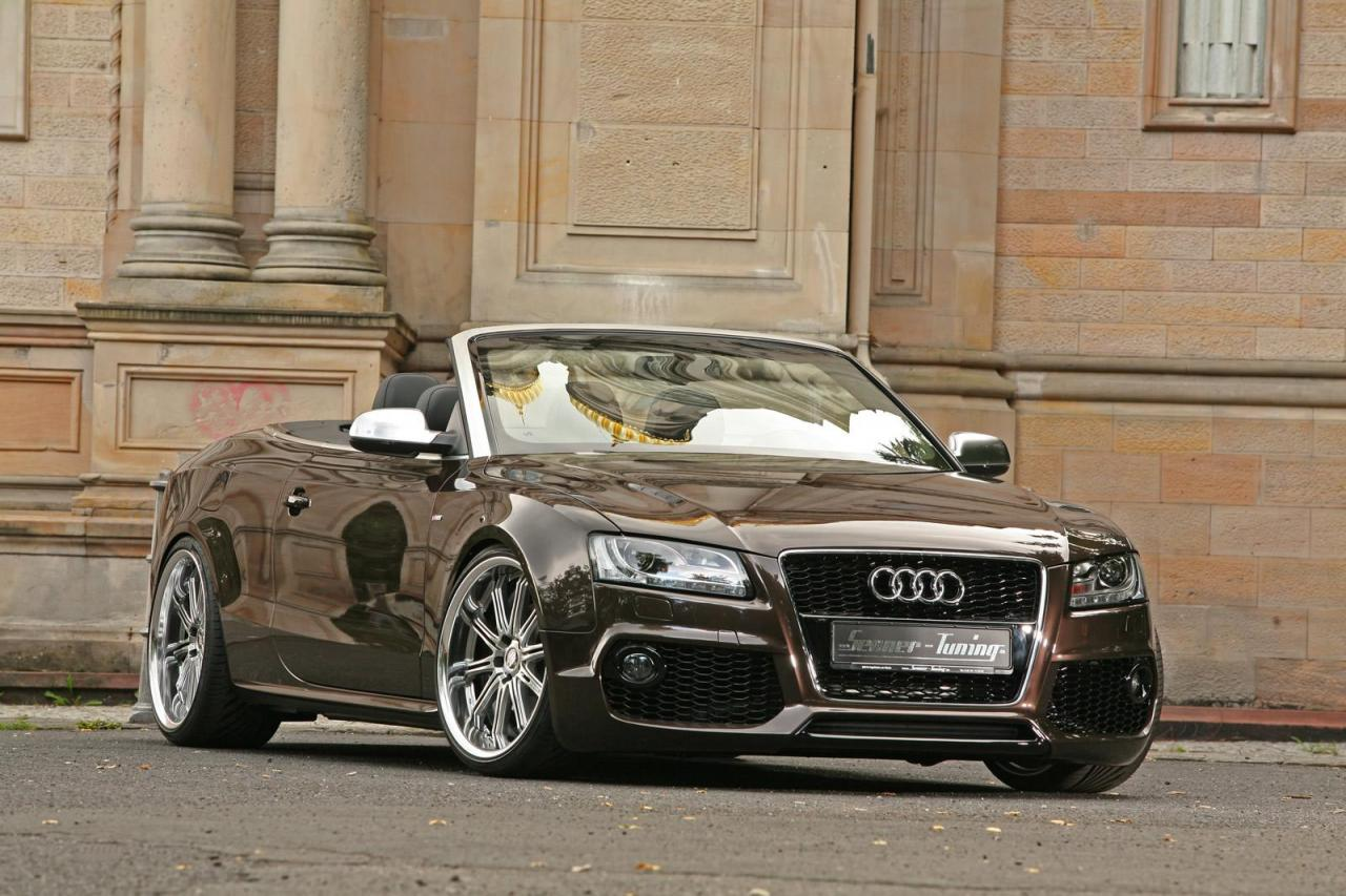 audi a5 cabriolet rs bodykit and performance package by senner tuning. Black Bedroom Furniture Sets. Home Design Ideas