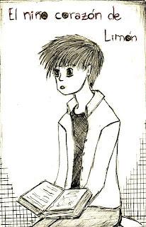 foto de Escribe Calisto: ¡Tercer dibujo del niño corazón de limón