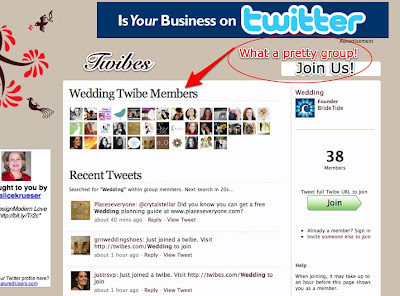 wedding twibe twitter