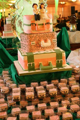 Luggage Wedding Cakes