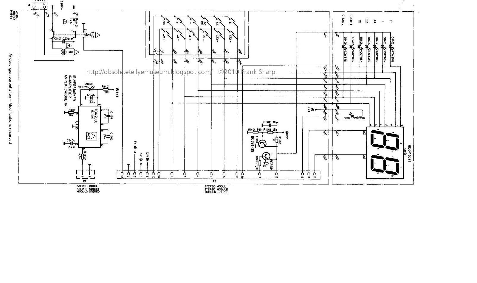 Obsolete Technology Tellye !: ITT DIGIVISION 3888 I HI FI