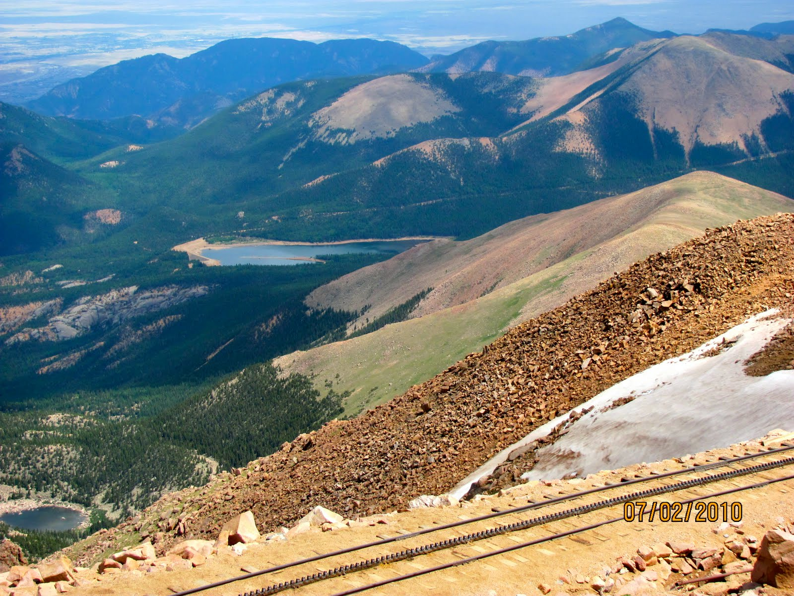 We Had About 40 Minutes On Top Of Pikes Peak Before To Again Board The Train For Long Trip Back But Not Took Obligatory Photo Ops