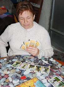 Milagros, la suegra lúdica más famosa, en plena acción. Foto GWMS