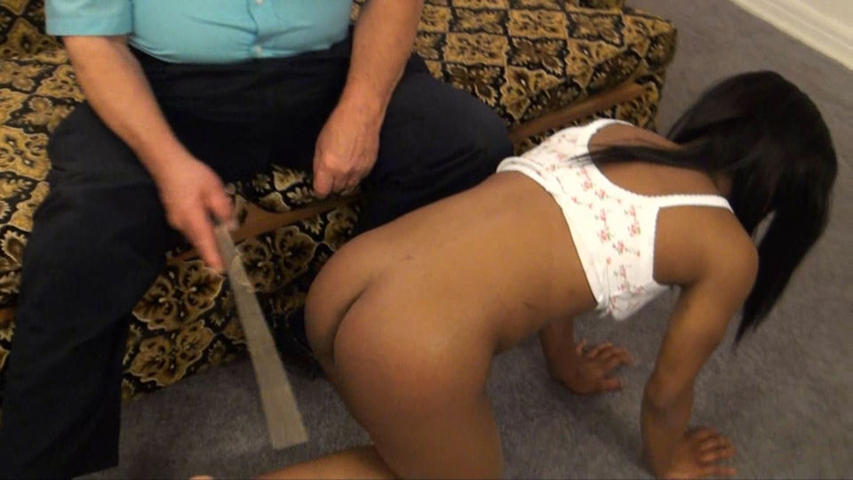 Black Girl Spanked