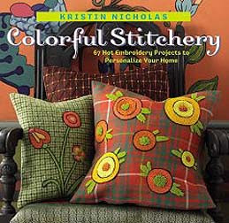 Colorful Stitchery, featured by Amy on Feeling Stitchy