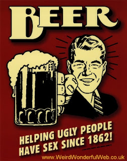 Image-Ugly people beer poster