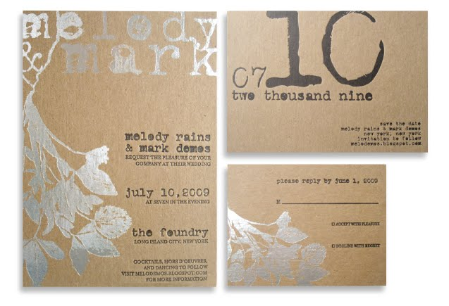 kraft paper wedding invitations – Bold Warrior Retreats